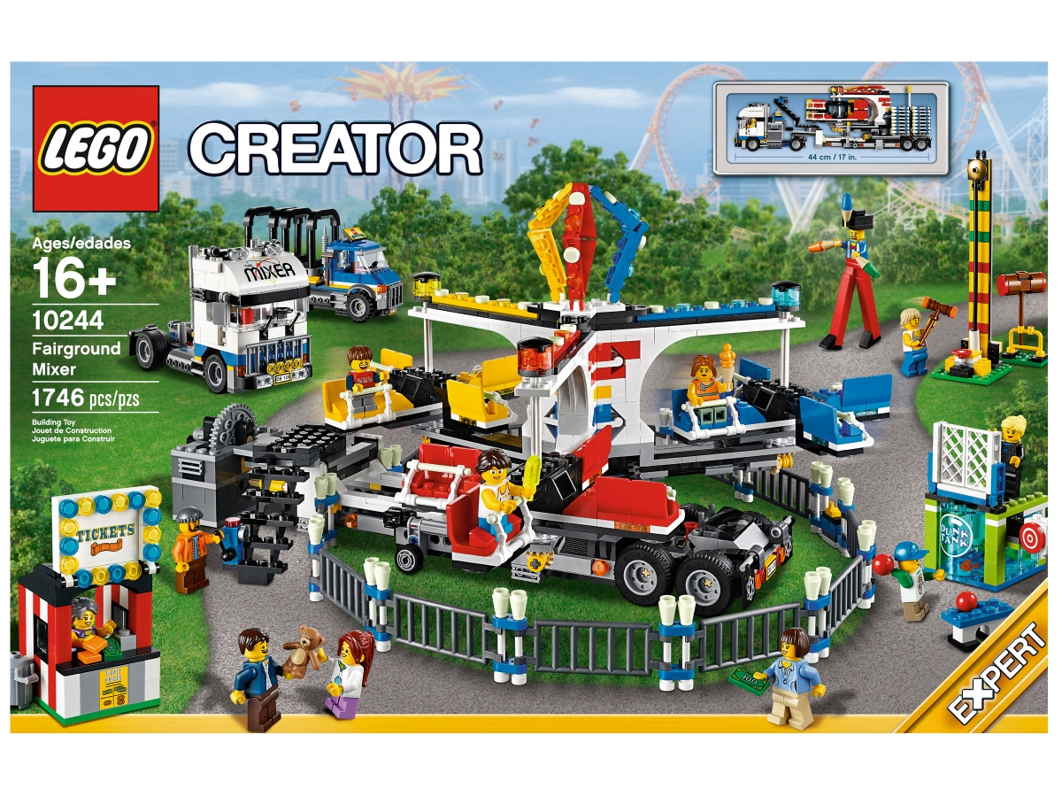 lego 10244 fairground