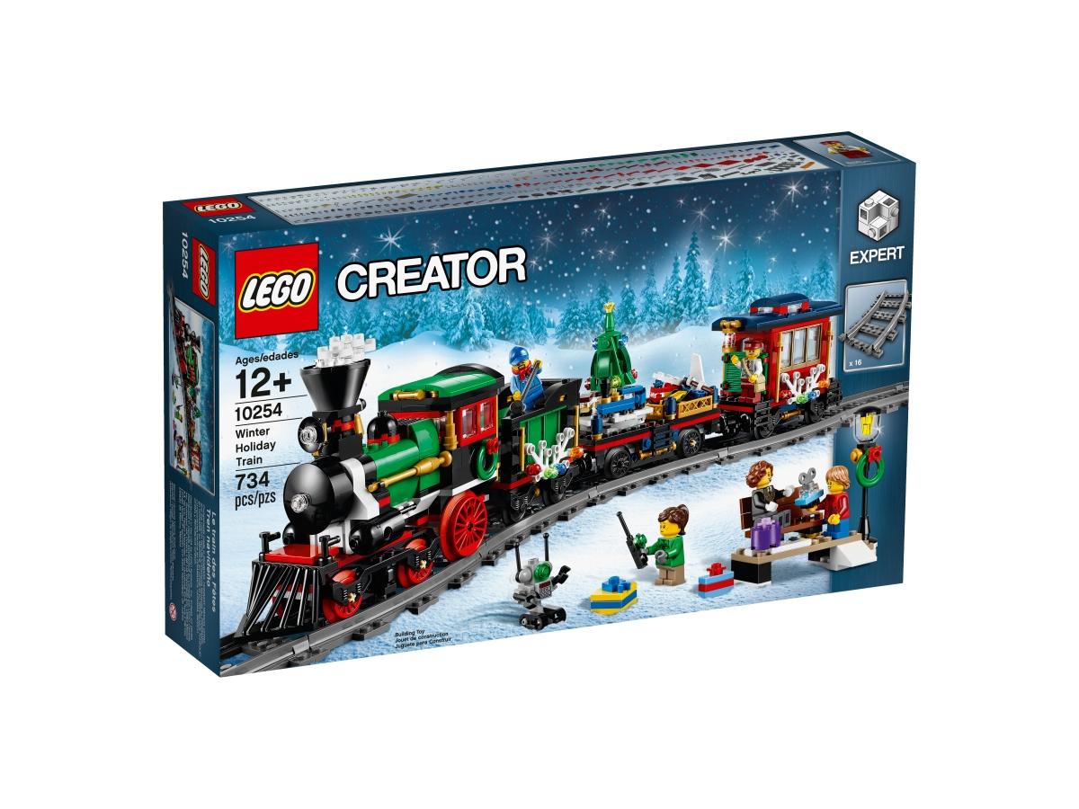 lego 10254 winter holiday train