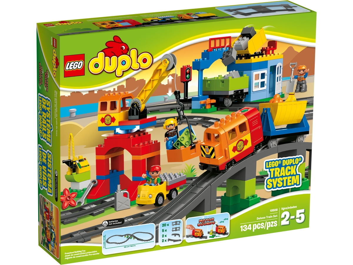 lego 10508 deluxe train set