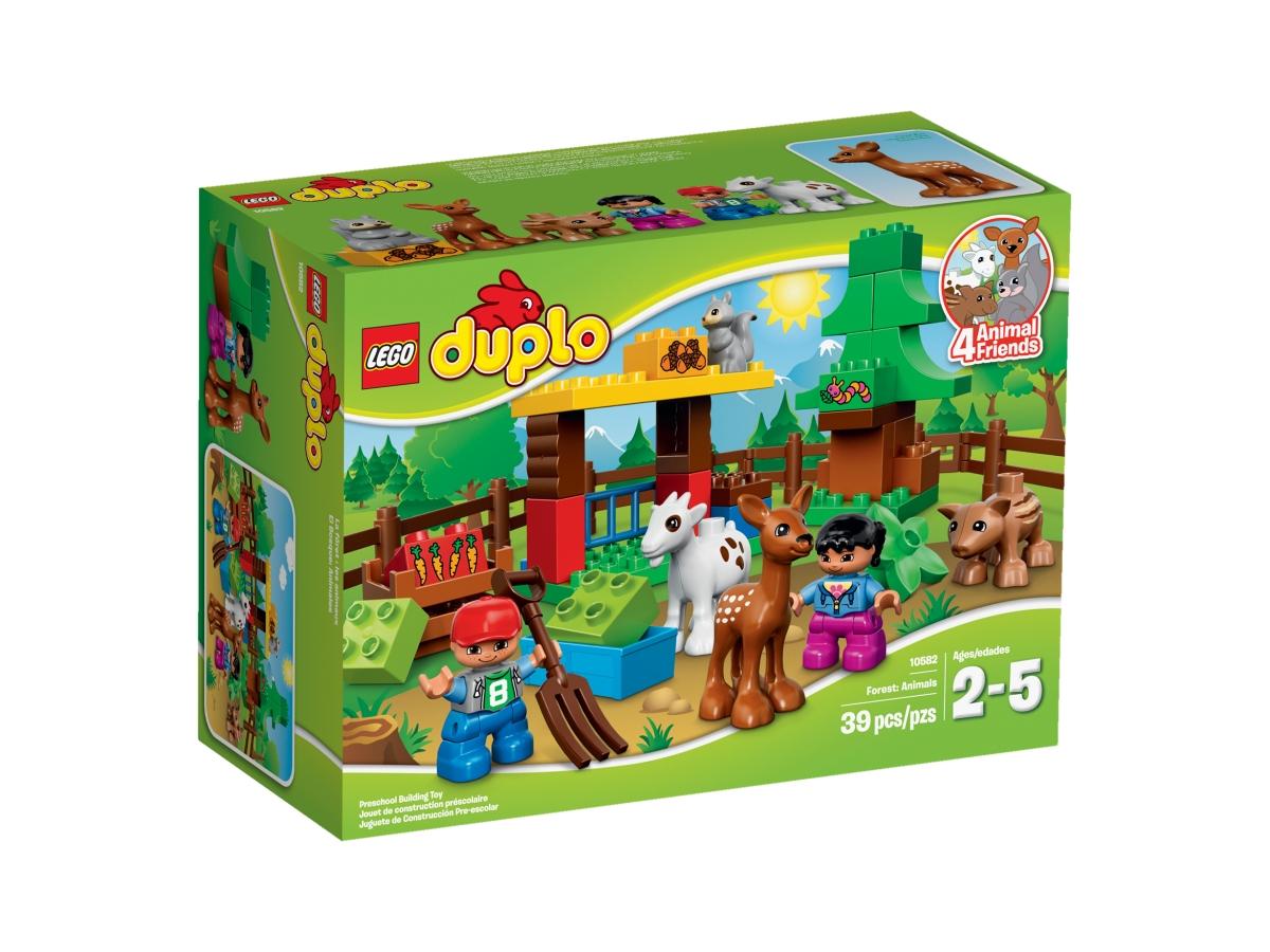 lego 10582 forest animals