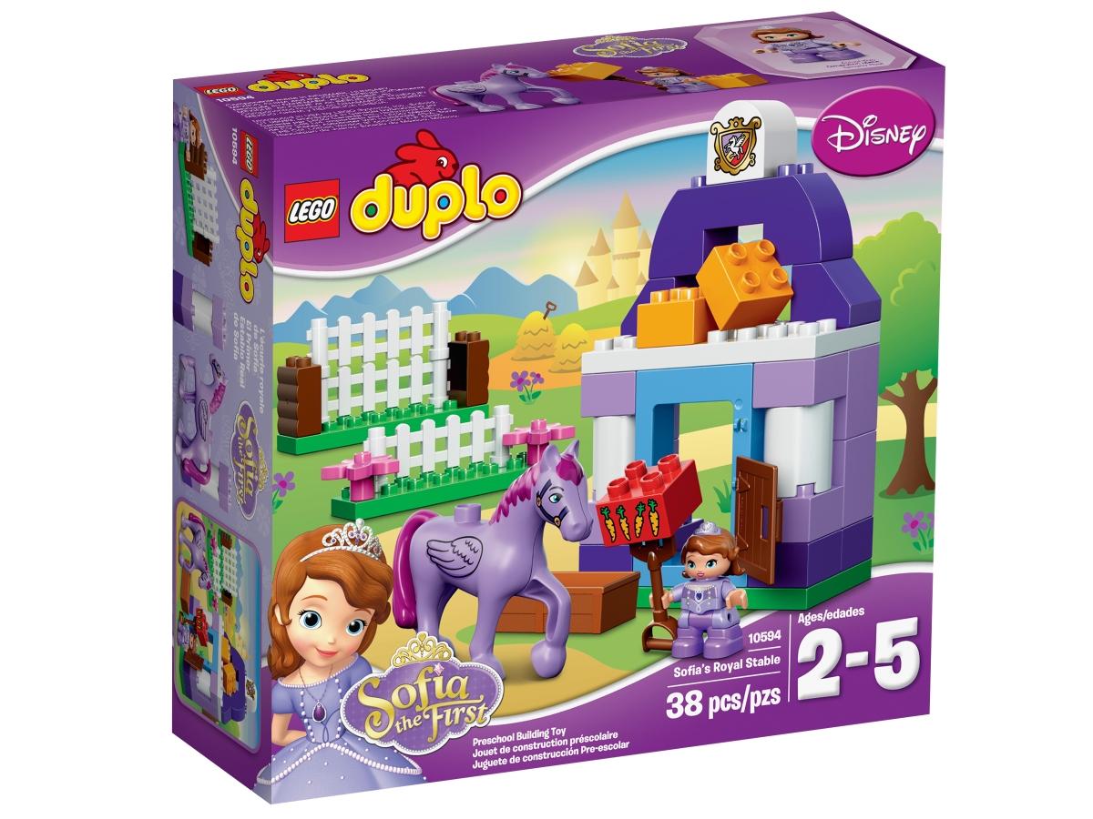 lego 10594 sofia the first royal stable