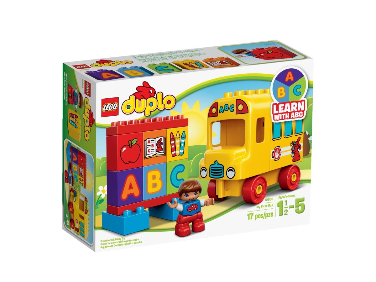 lego 10603 my first bus