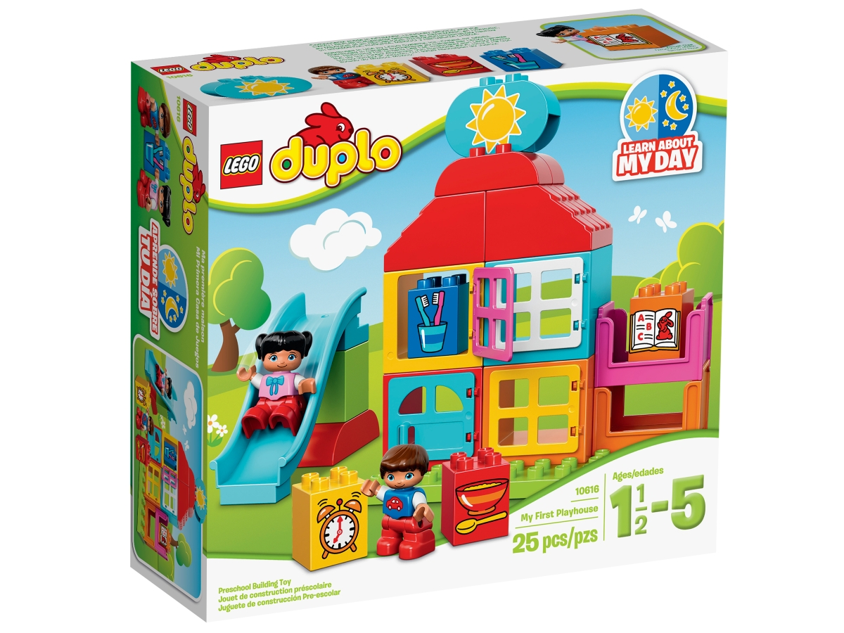 lego 10616 my first playhouse