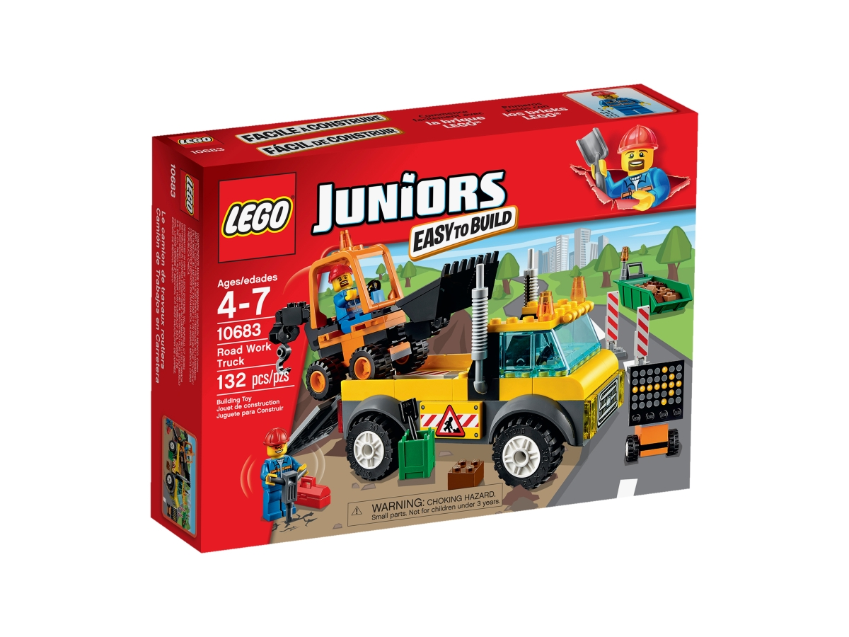 lego 10683 road work truck