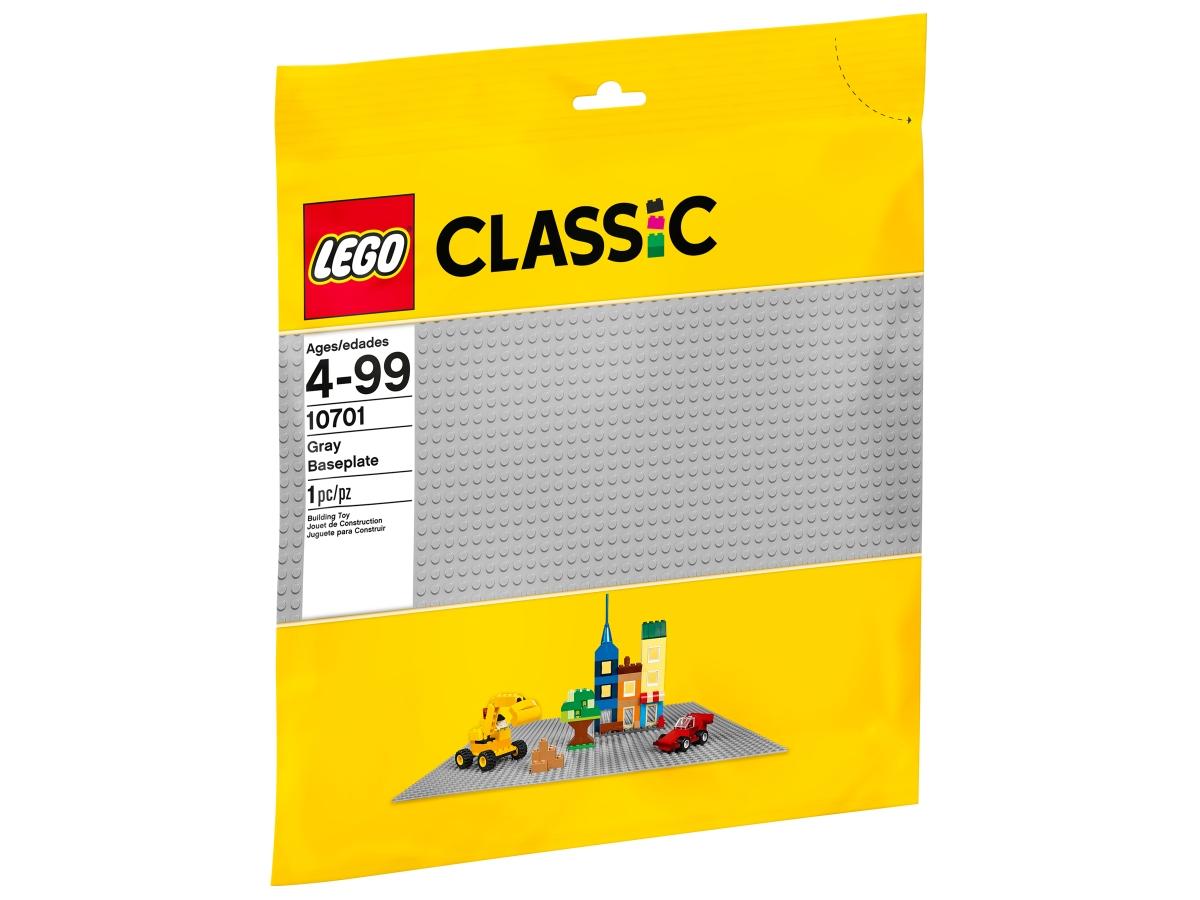 lego 10701 gray baseplate