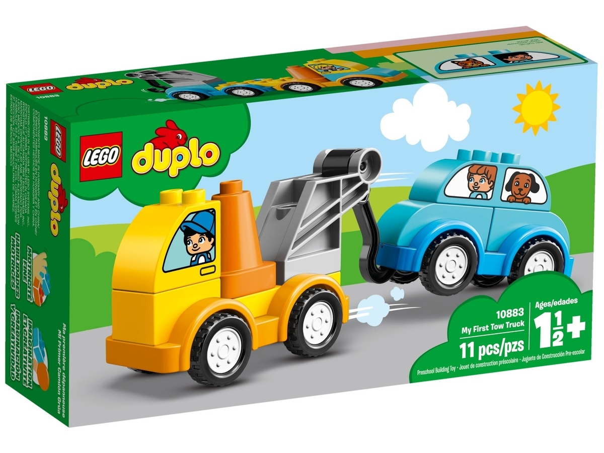 lego 10883 my first tow truck