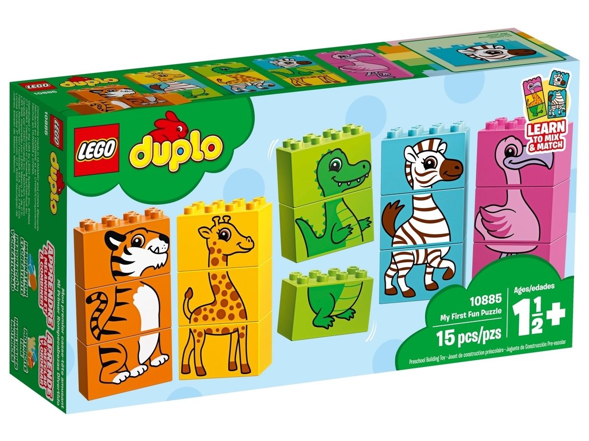 lego 10885 my first fun puzzle