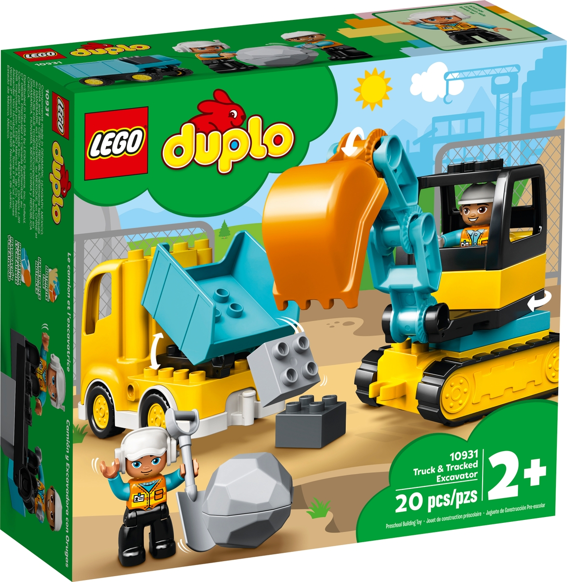lego 10931 truck tracked