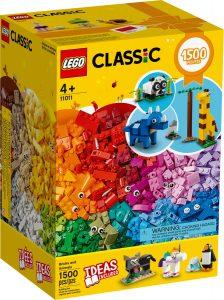 lego 11011 bricks and animals