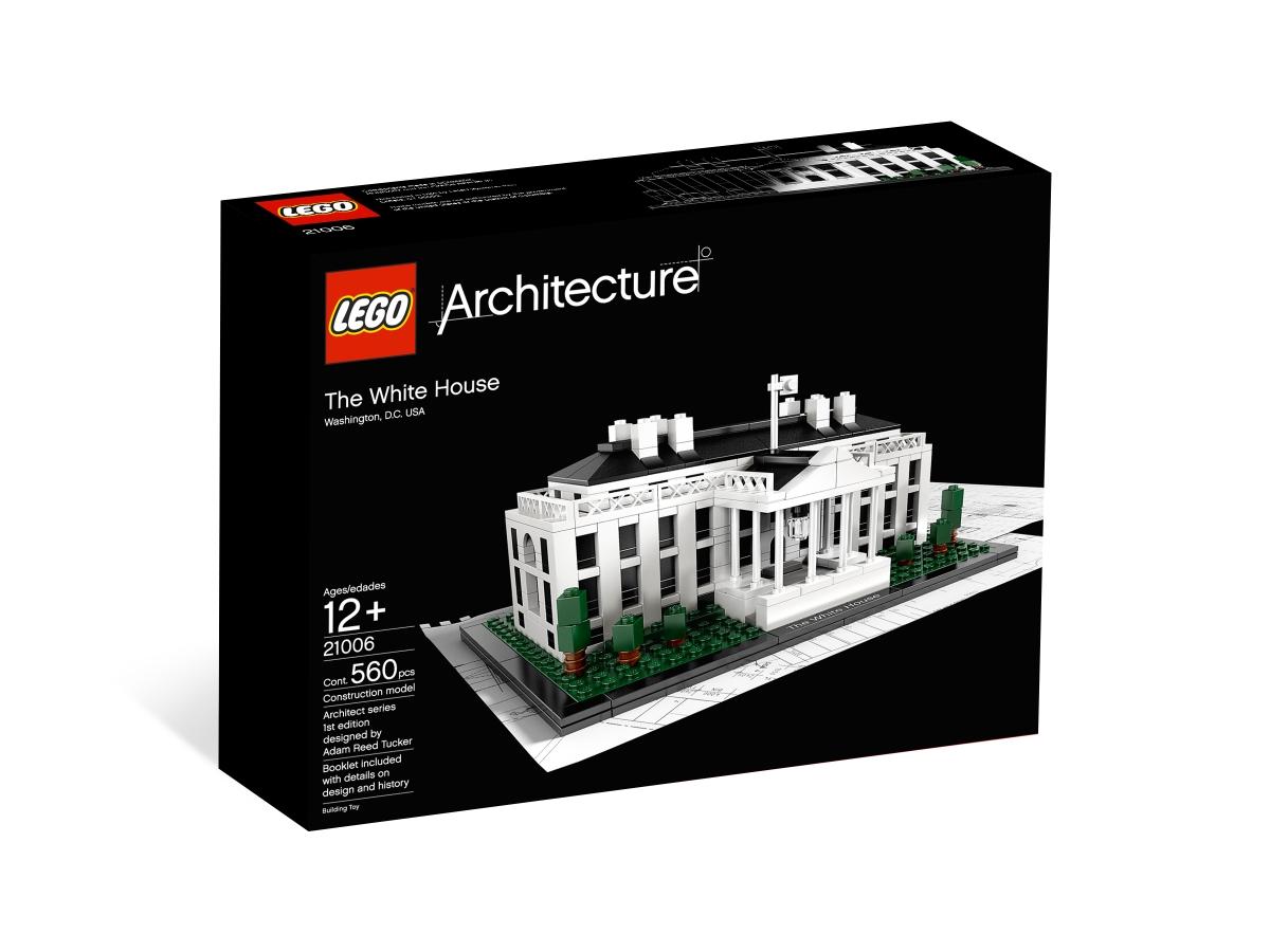 lego 21006 the white house