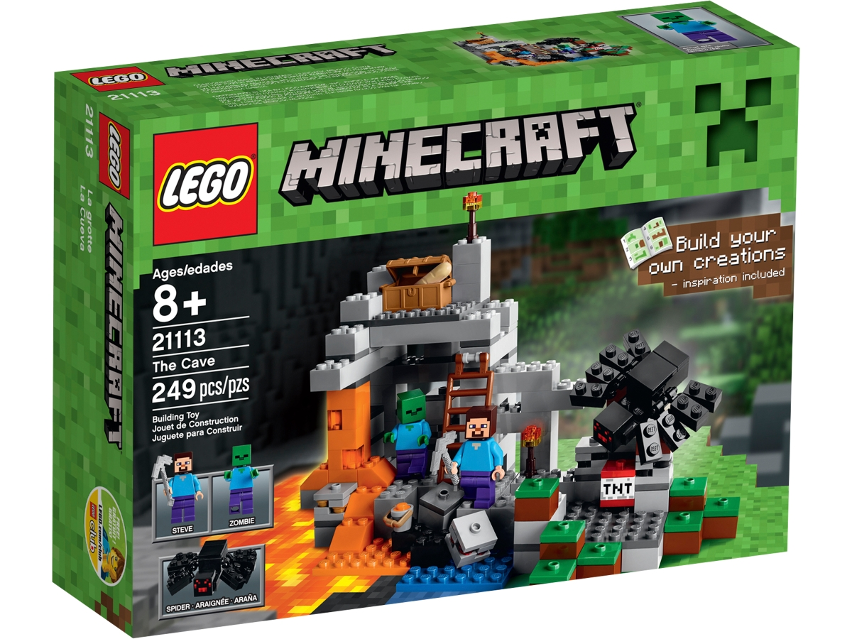 lego 21113 the cave