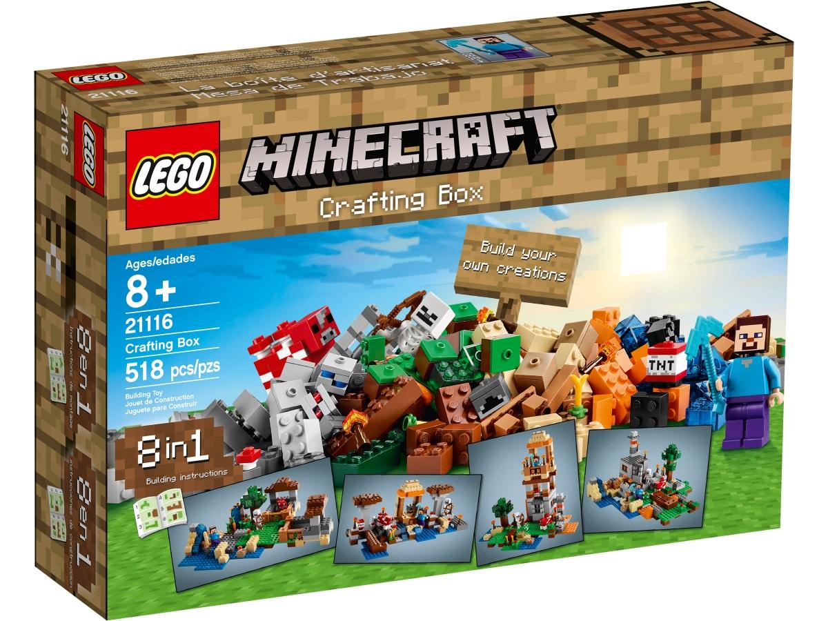 lego 21116 crafting