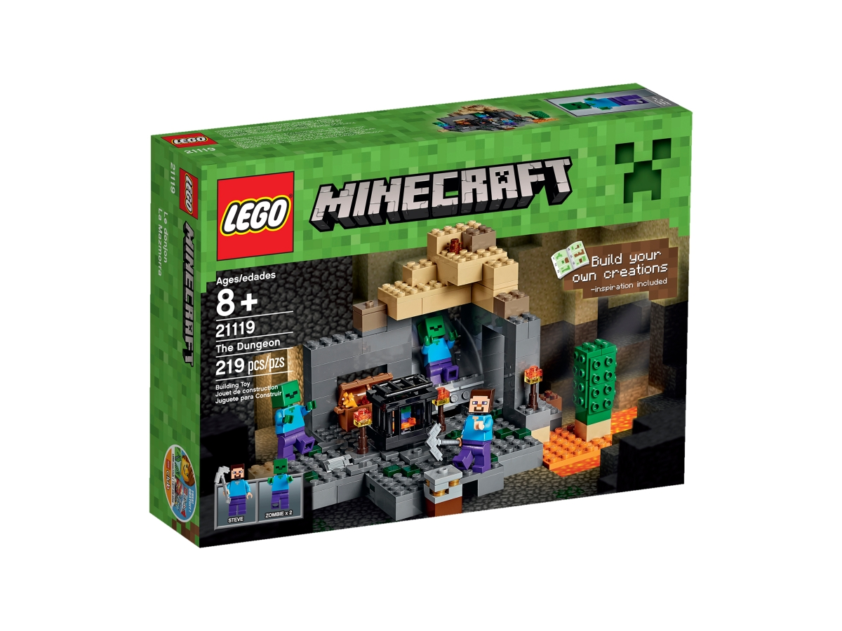 lego 21119 the dungeon