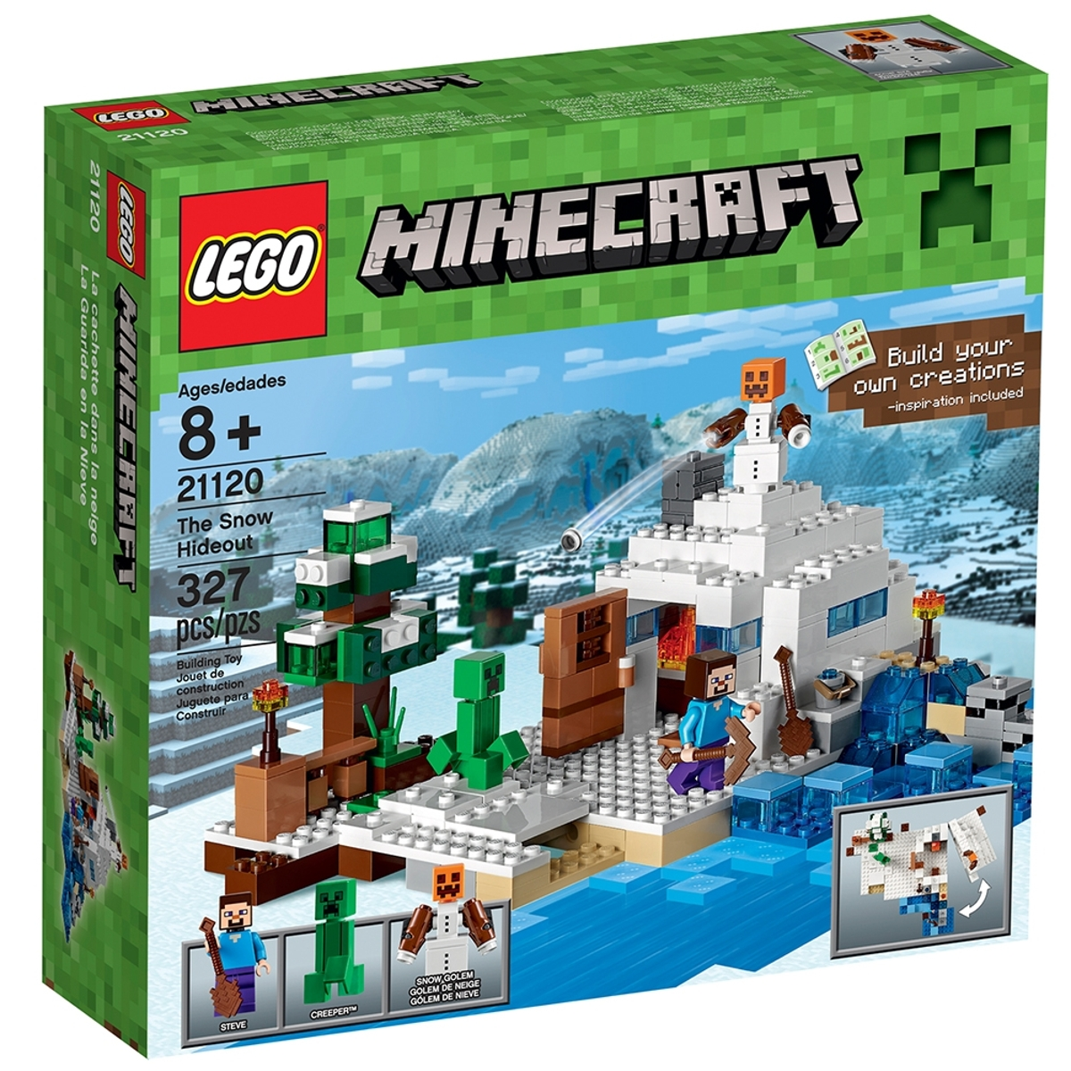 lego 21120 the snow hideout