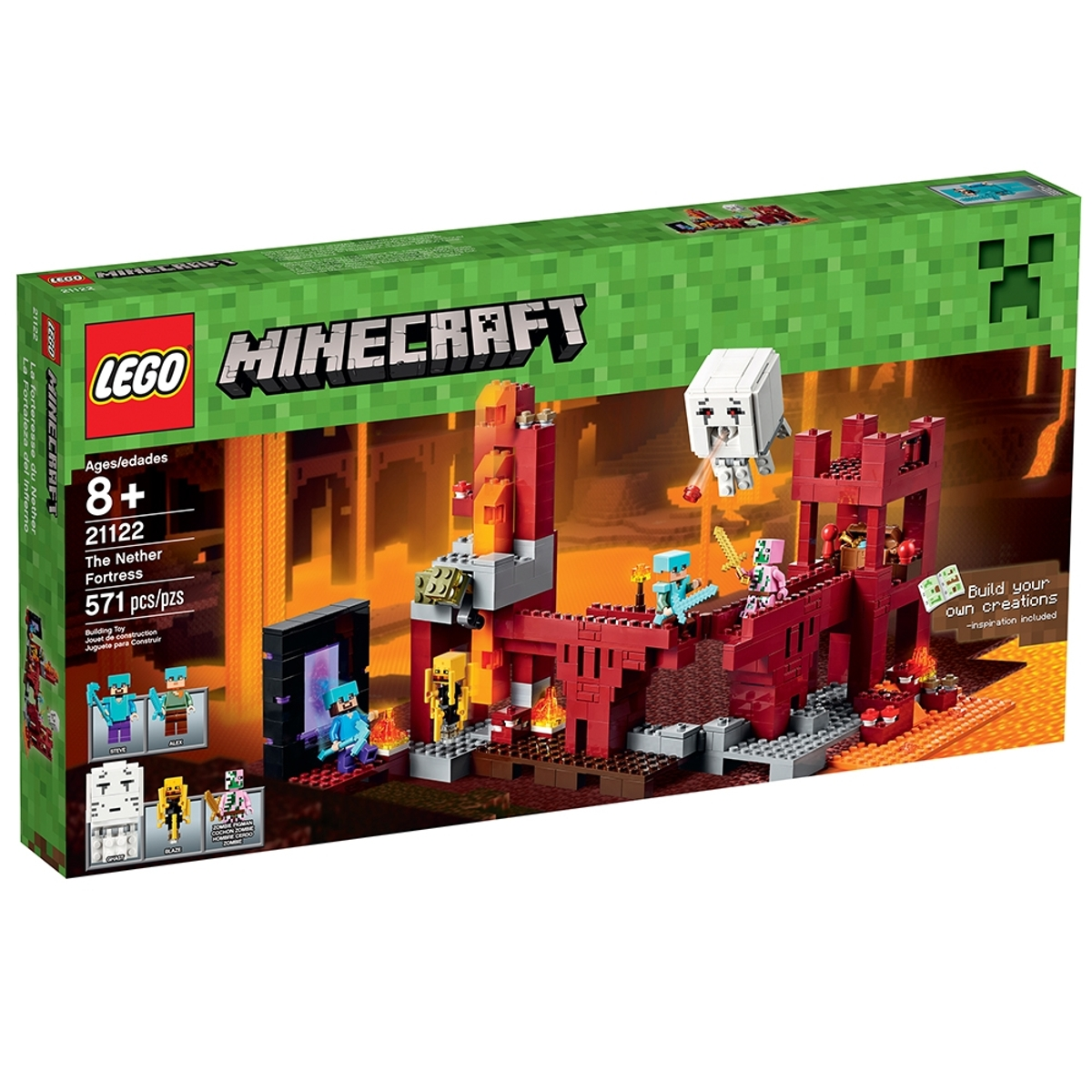 lego 21122 the nether fortress