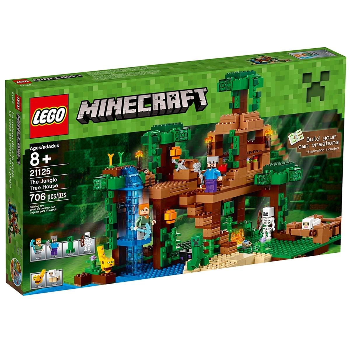 lego 21125 the jungle tree house