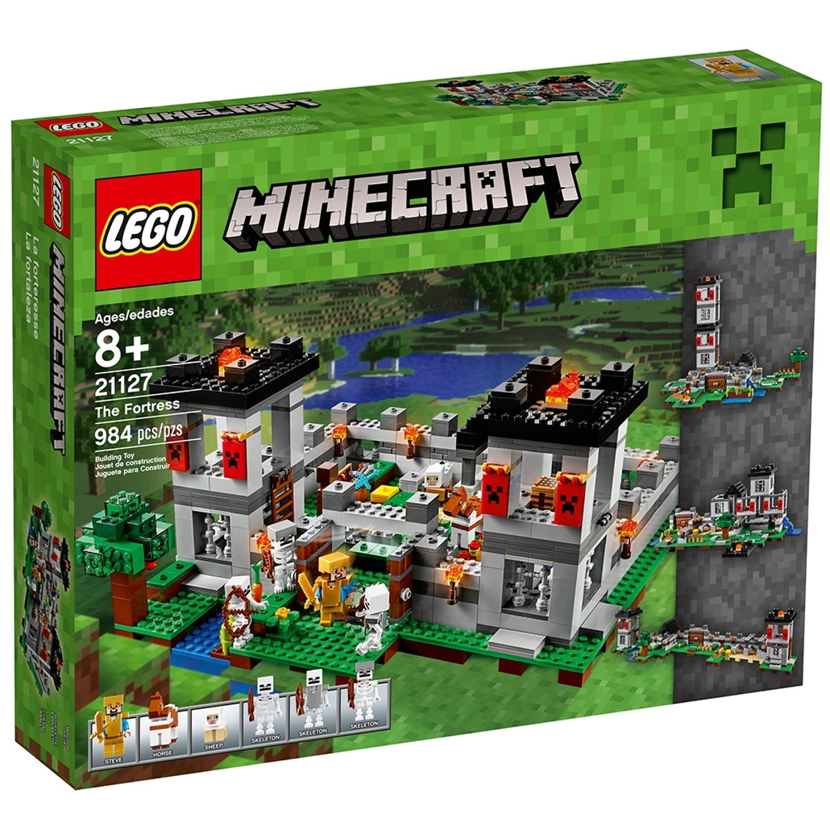 lego 21127 the fortress