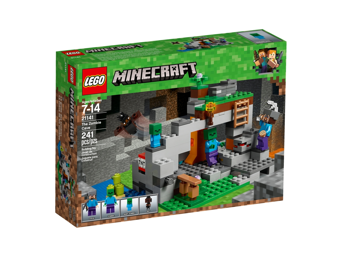 lego 21141 the zombie cave