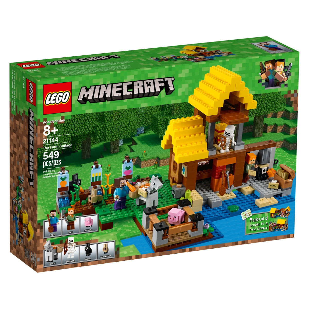 lego 21144 the farm cottage