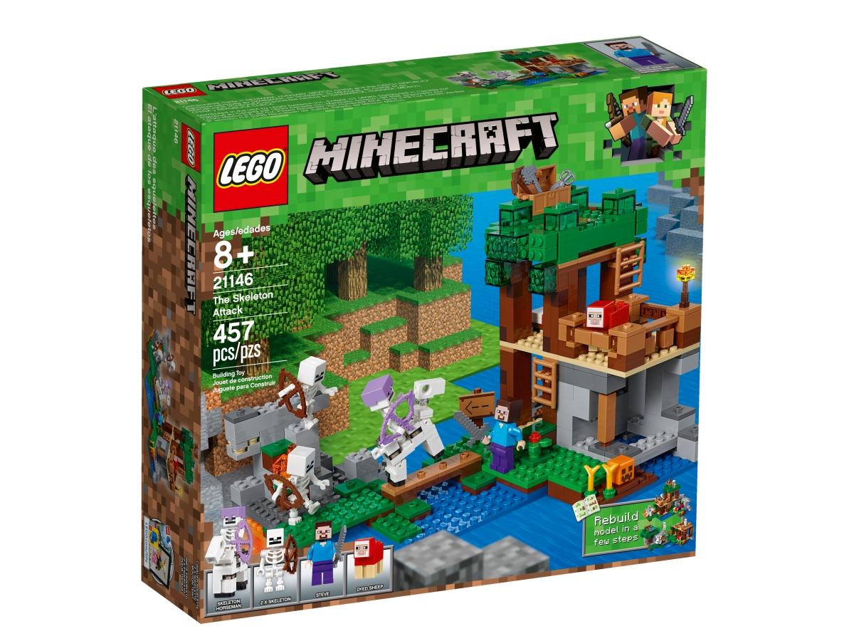 lego 21146 the skeleton attack