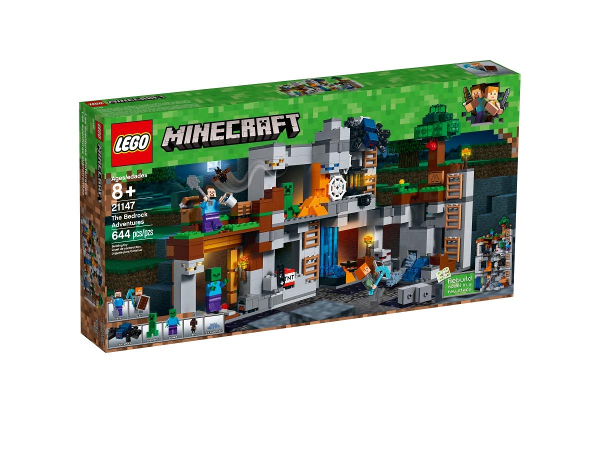 lego 21147 the bedrock adventures