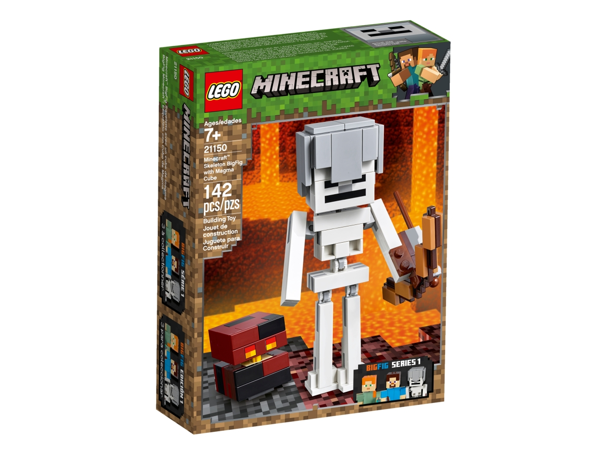 lego 21150 skeleton bigfig with magma cube