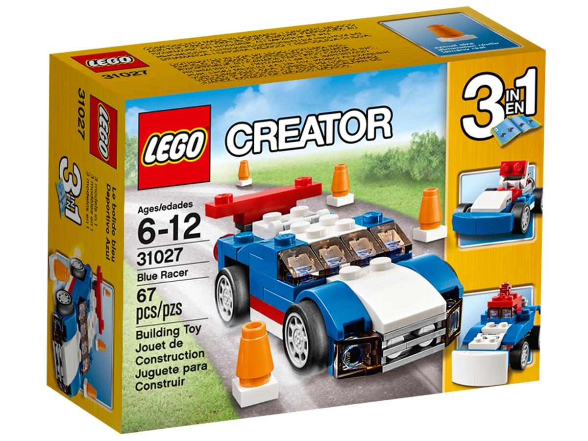 lego 31027 blue racer
