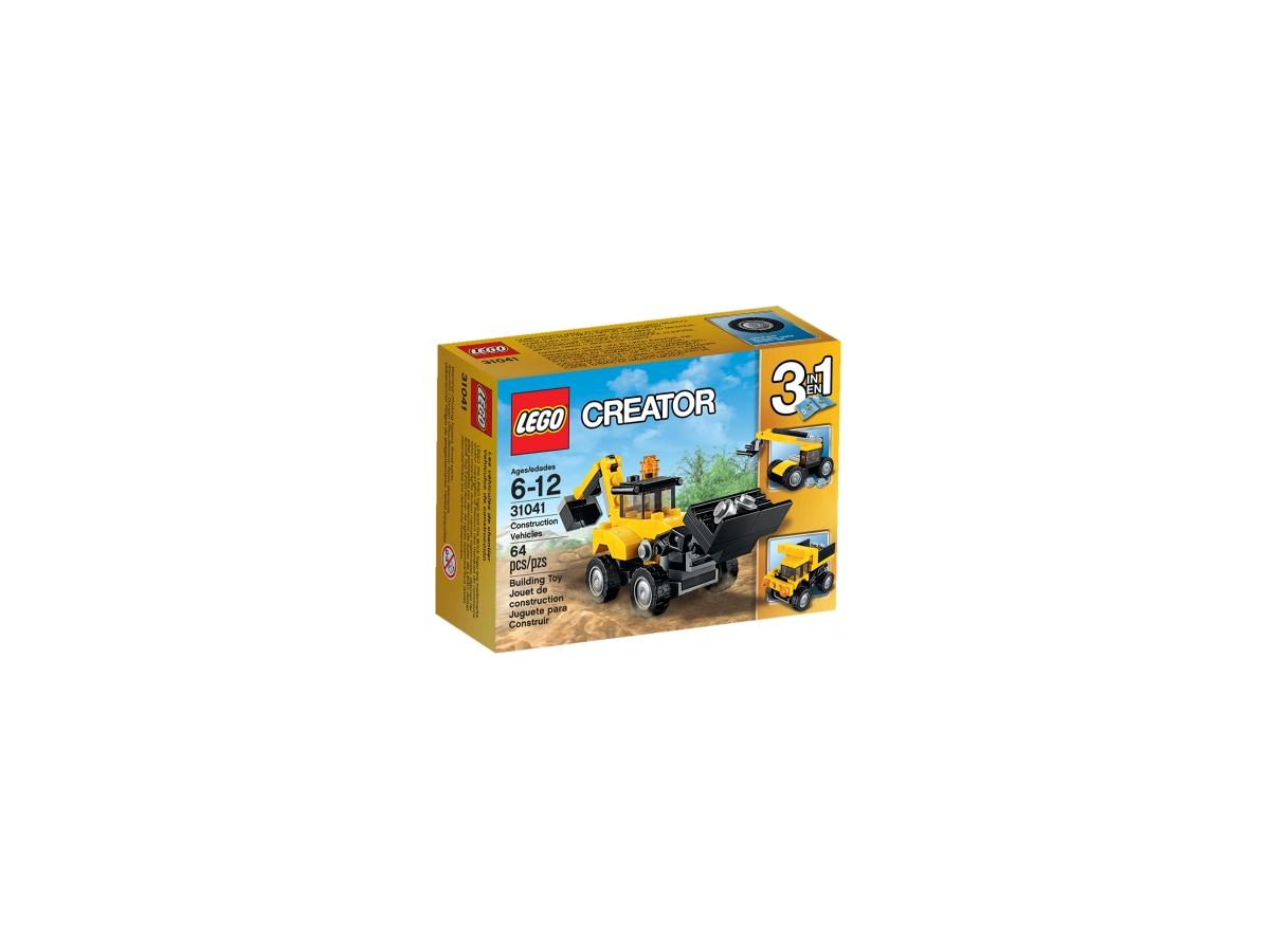 lego 31041 construction vehicles