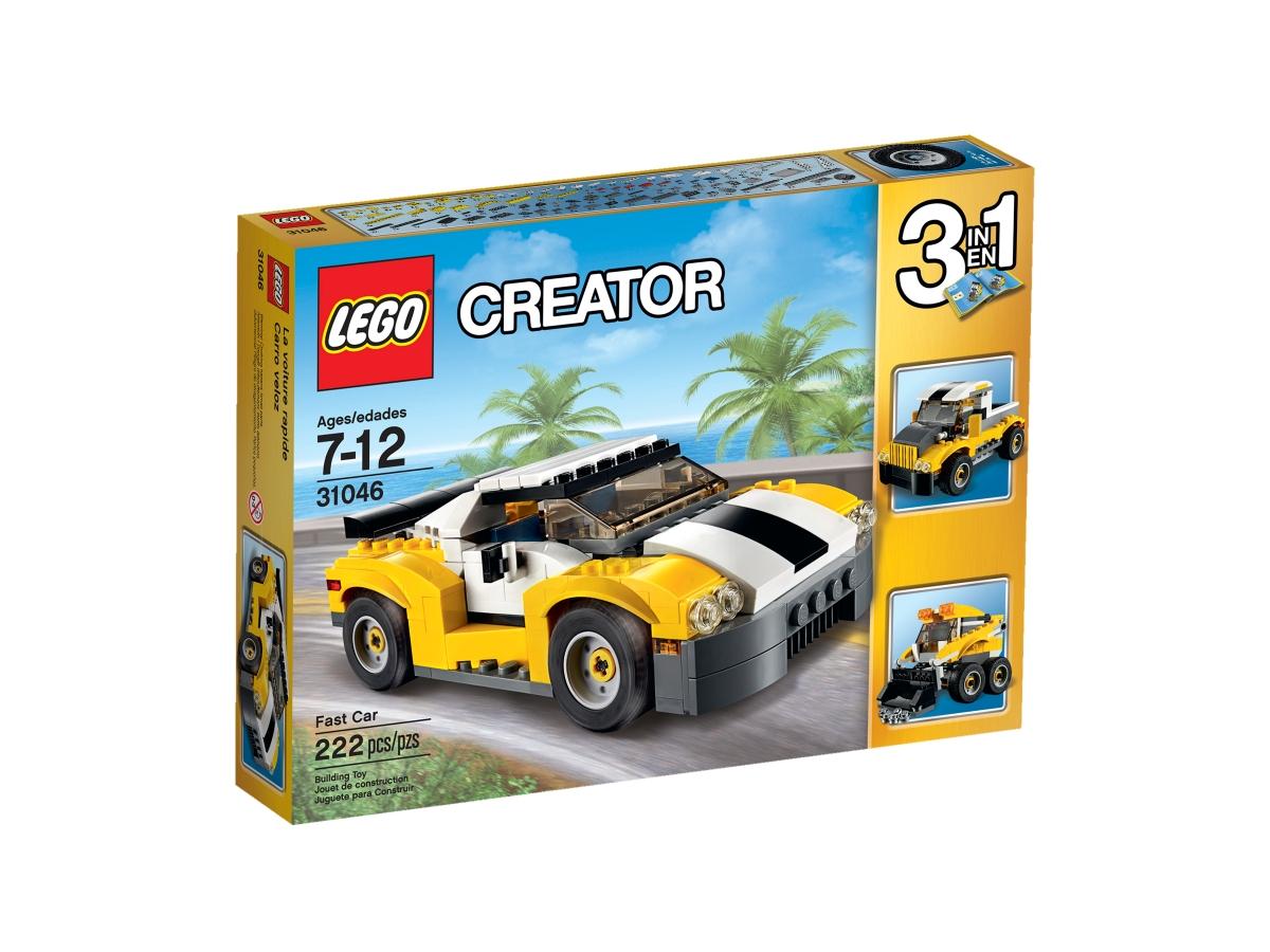 lego 31046 fast car