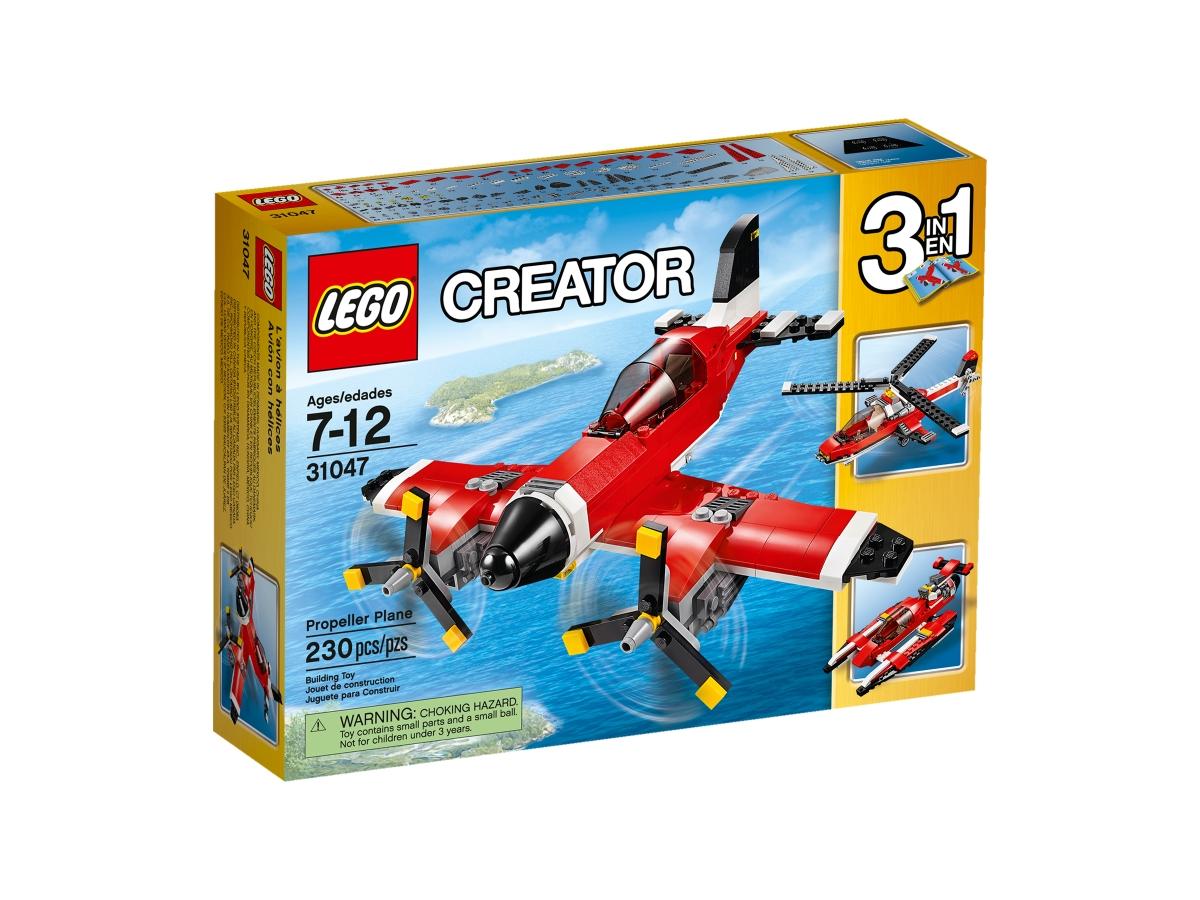 lego 31047 propeller plane