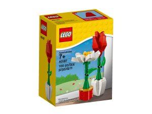 lego 40187 flower display