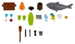 lego 40341 xtra sea accessories