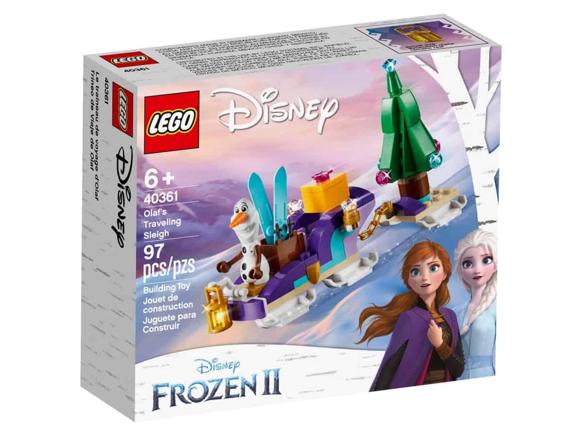 lego 40361 olafs traveling sleigh