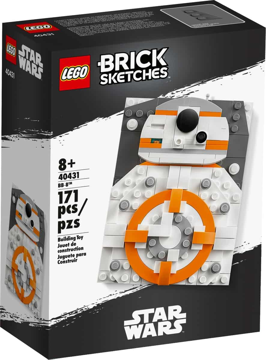 lego 40431 brick sketches bb 8