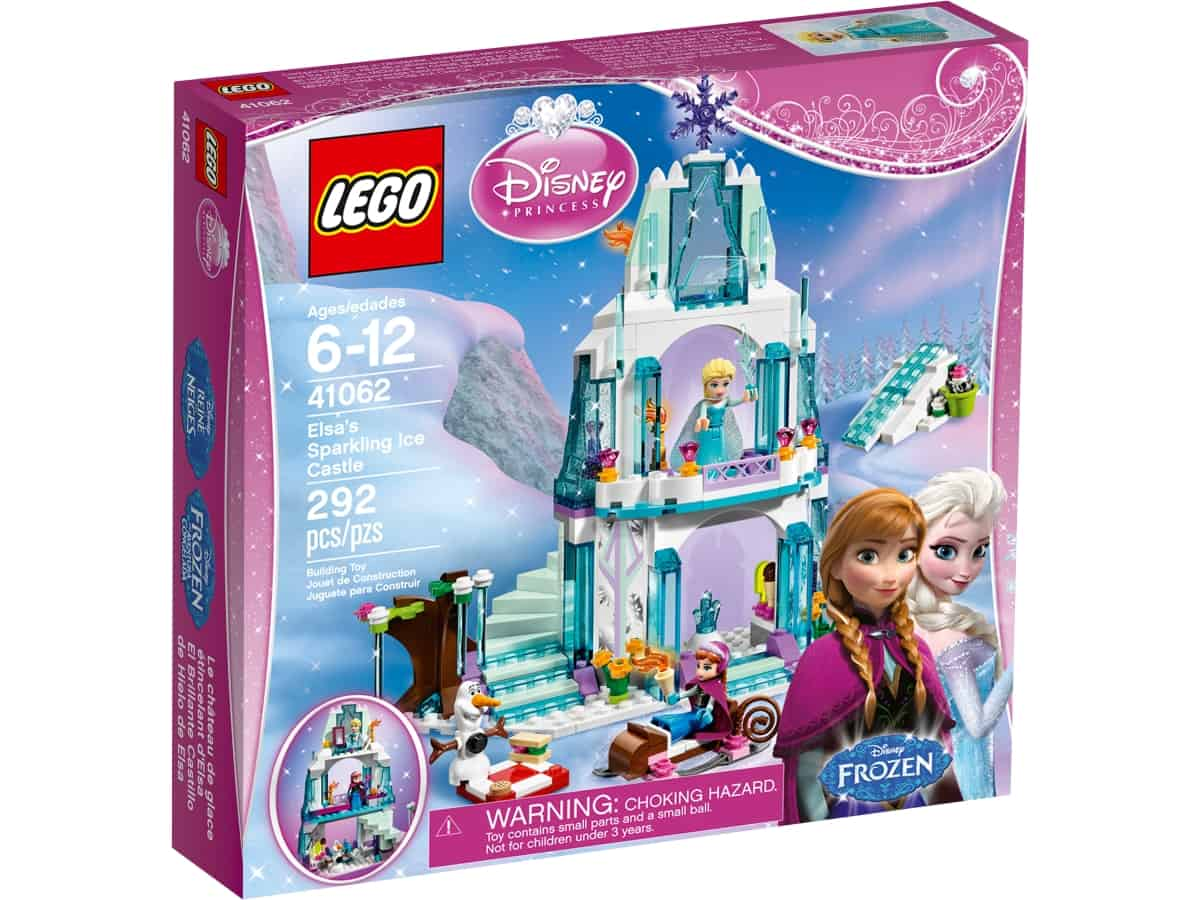 lego 41062 elsas sparkling ice castle