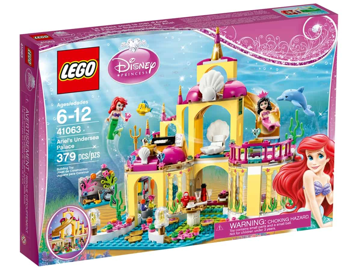 lego 41063 ariels undersea palace