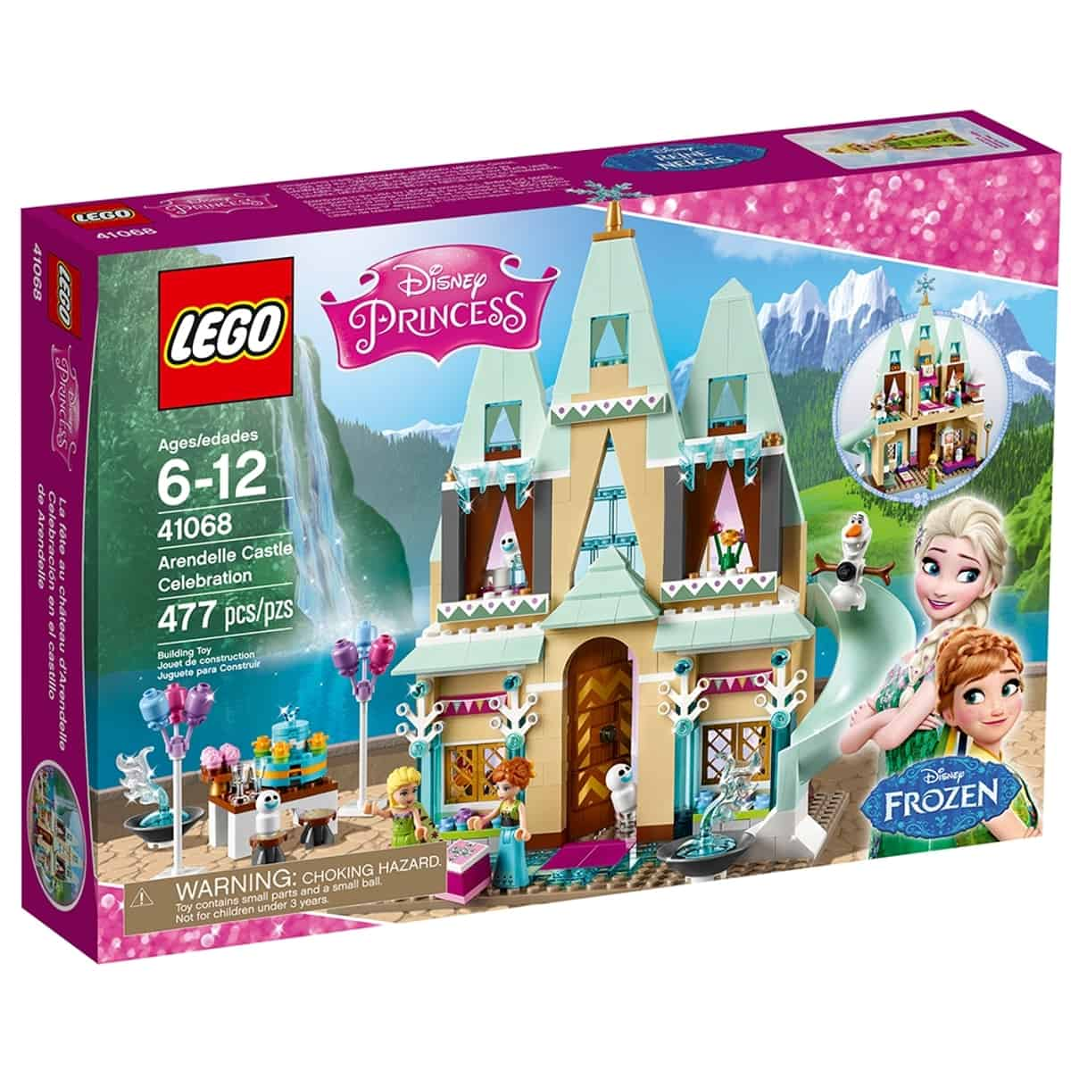 lego 41068 arendelle castle celebration