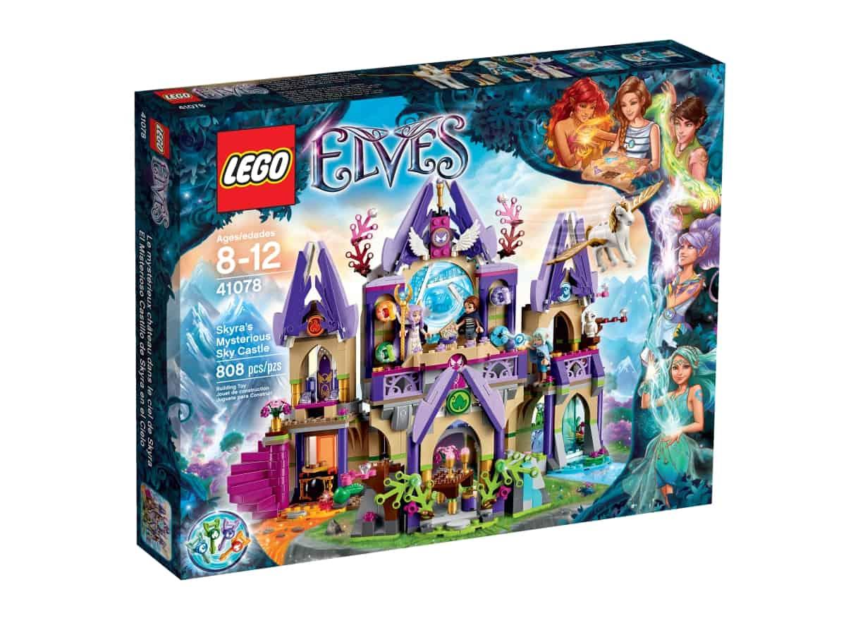 lego 41078 skyras mysterious sky castle