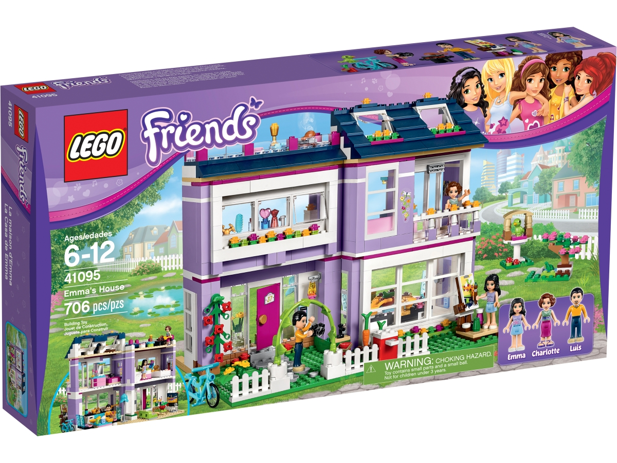 lego 41095 emmas house