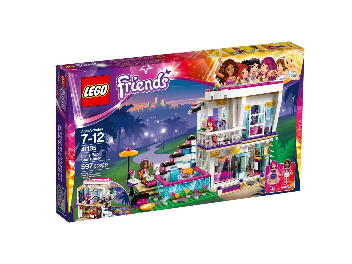 lego 41135 livis pop star house