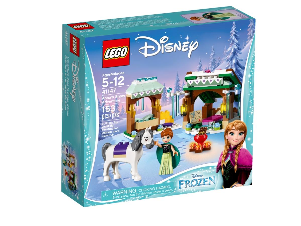 lego 41147 annas snow adventure