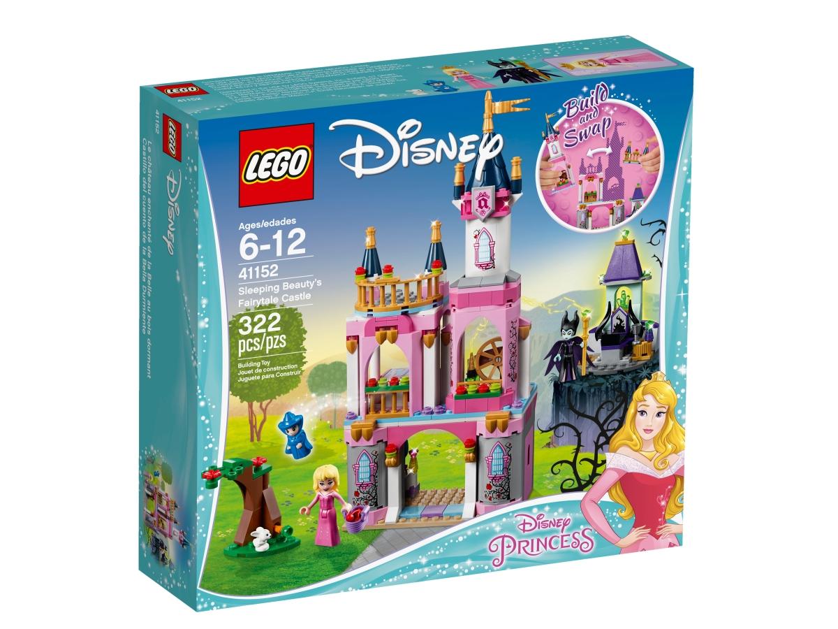 lego 41152 sleeping beautys fairytale castle