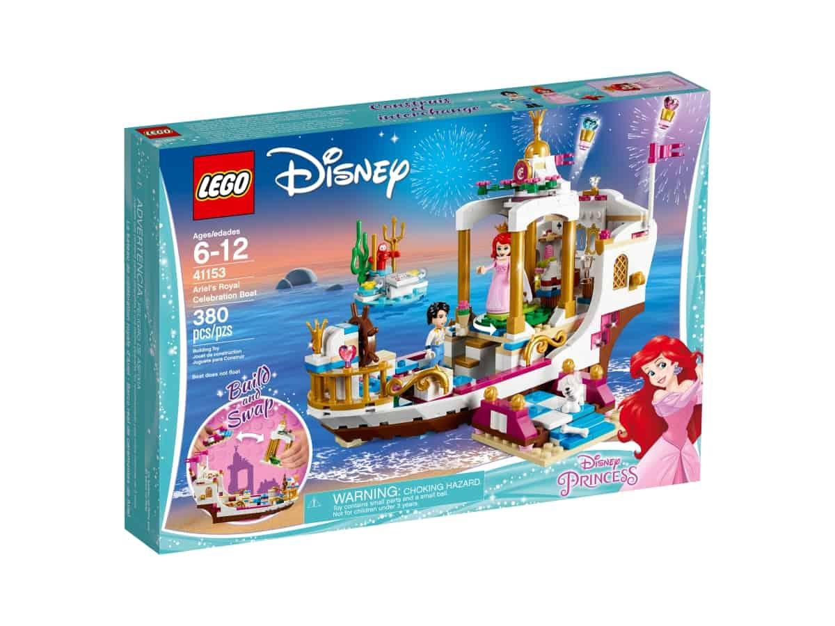 lego 41153 ariels royal celebration boat