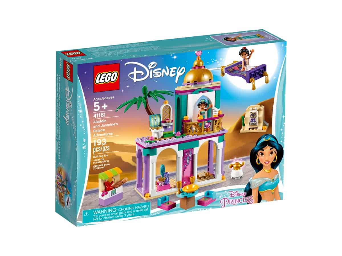 lego 41161 aladdin and jasmines palace adventures