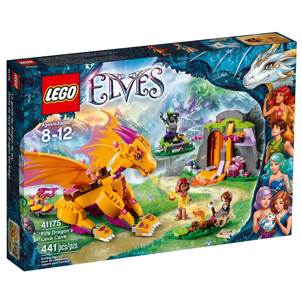 lego 41175 fire dragons lava cave