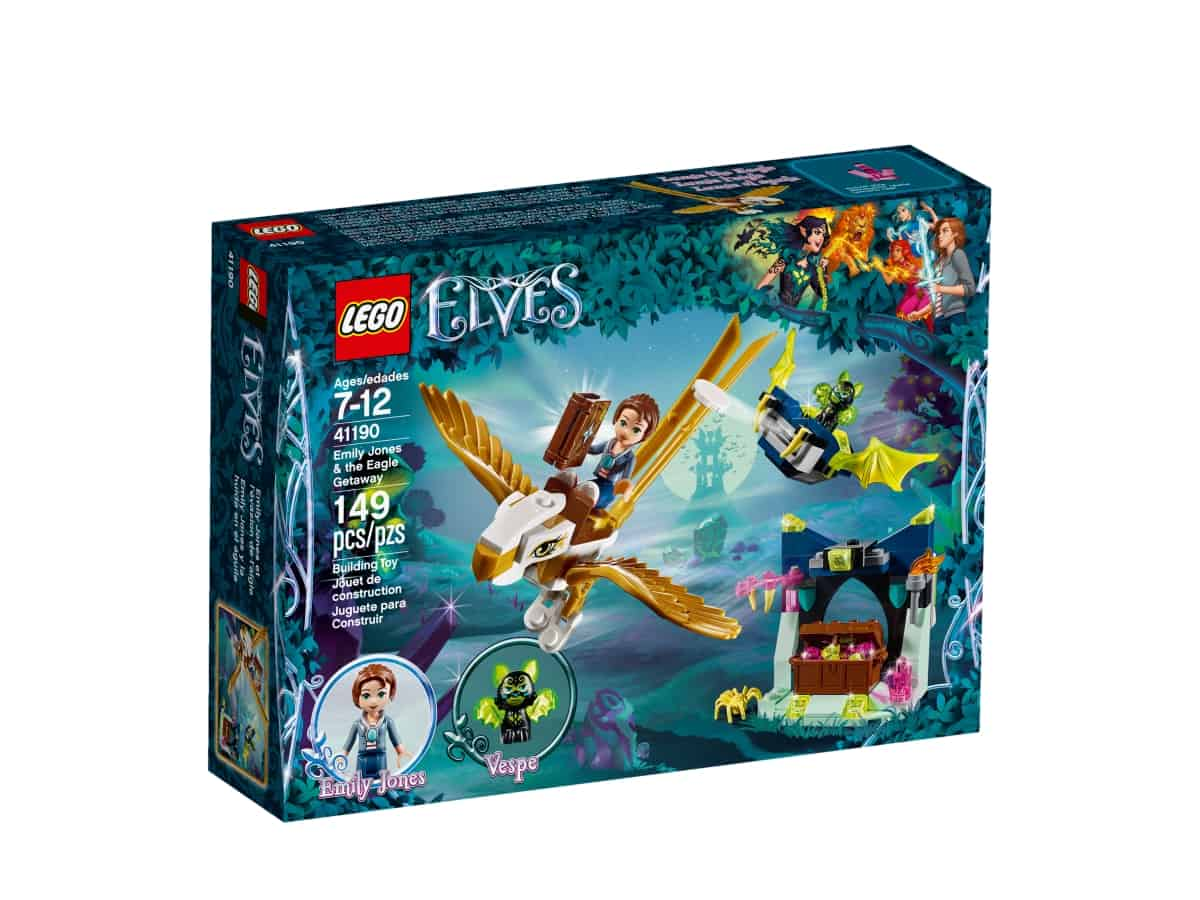lego 41190 emily jones the eagle getaway