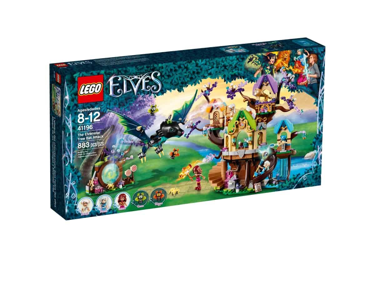 lego 41196 the elvenstar tree bat attack
