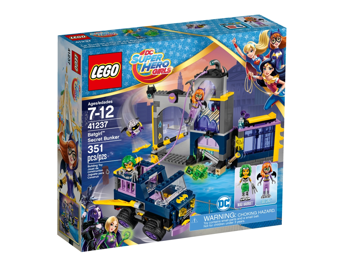 lego 41237 batgirl secret bunker