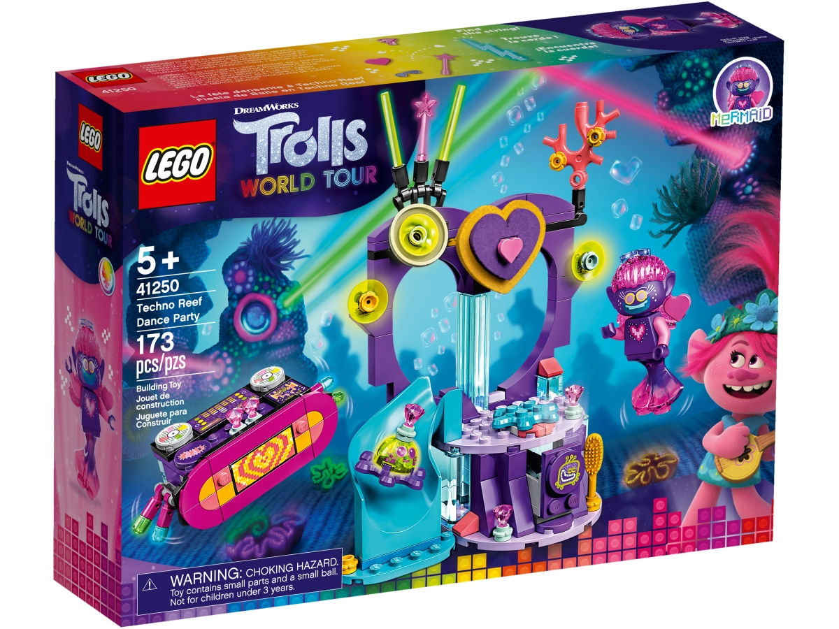 lego 41250 techno reef dance party