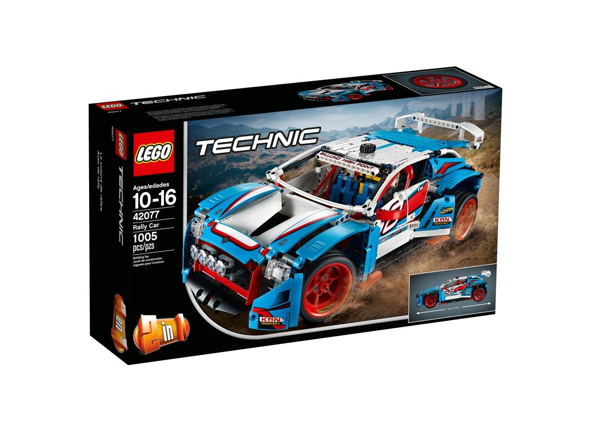 lego 42077 rally car